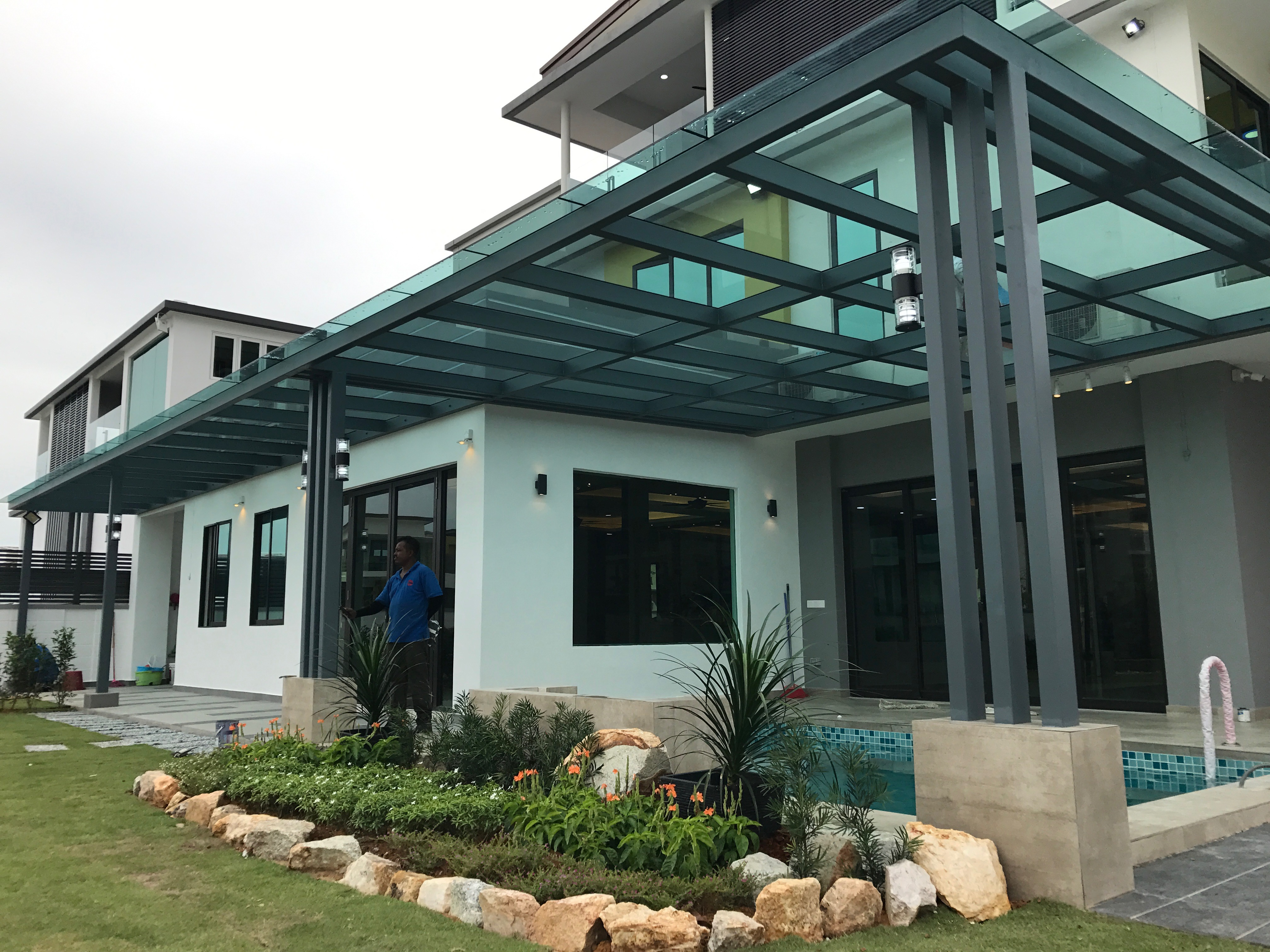 Glass Roofing In Malaysia The One Steel Project Sdn Bhd
