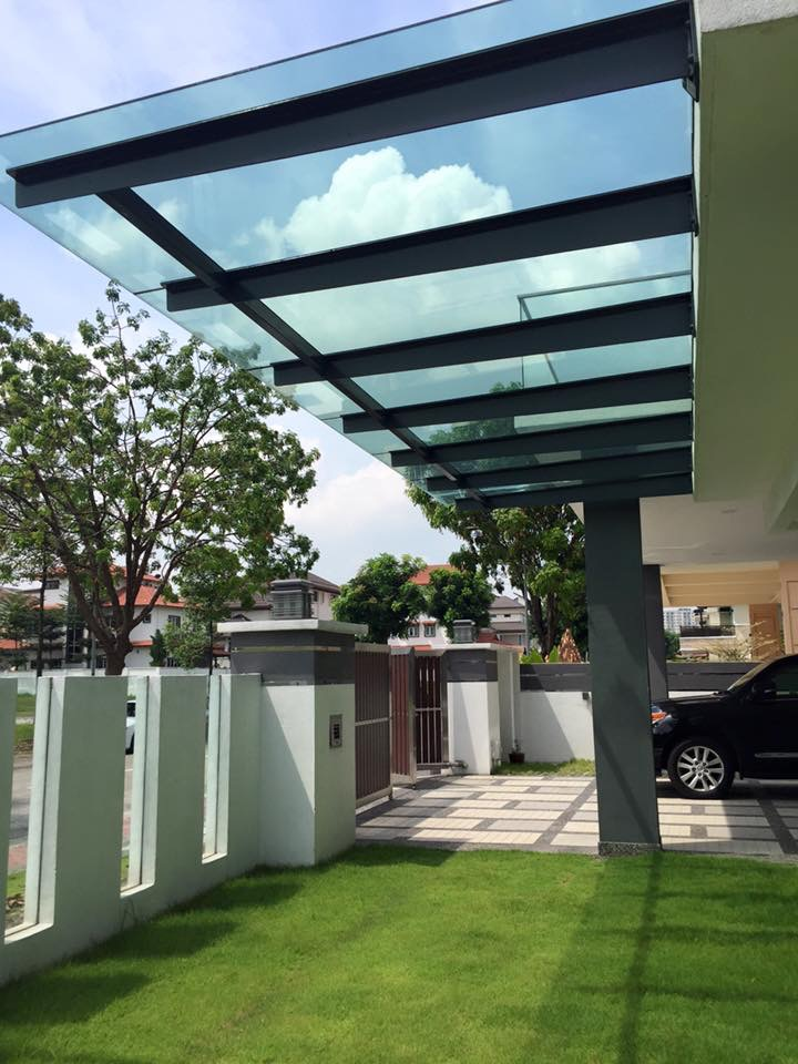 T Beam Design Glass Roof The One Steel Project Sdn Bhd